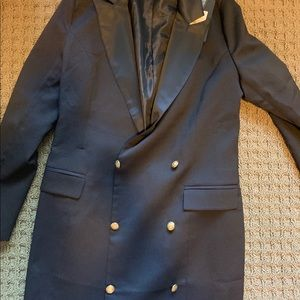 Missguided tuxedo dress